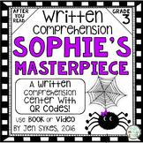 Written Comprehension - Sophie's Masterpiece mClass TRC Questions