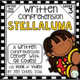 Written Comprehension - Stellaluna mClass TRC Questions