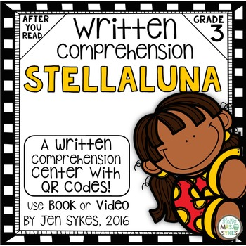Written Comprehension - Stellaluna mClass TRC Questions