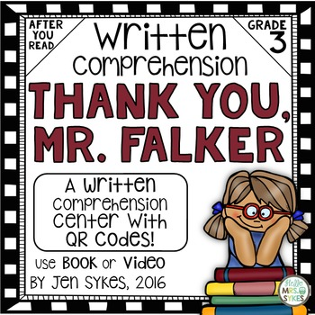 Written Comprehension - Thank You, Mr. Falker mClass TRC Questions