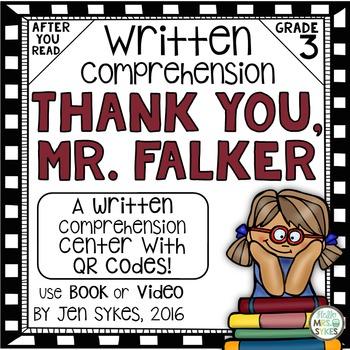 Written Comprehension - Thank You, Mr. Falker mClass TRC Q