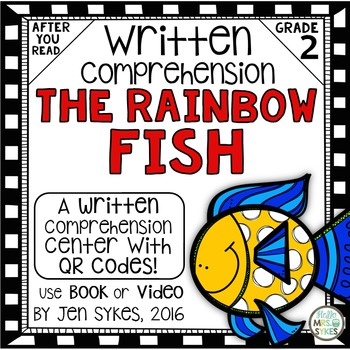 Adapted Rainbow Fish Worksheets Teaching Resources Tpt