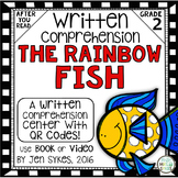 Written Comprehension - The Rainbow Fish with QR code mCla