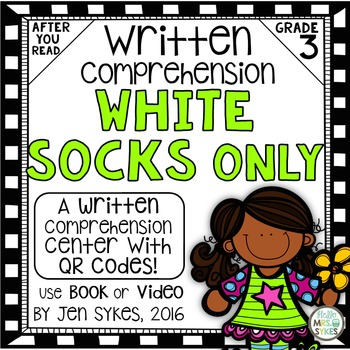 Written Comprehension - White Socks Only mClass TRC Questions