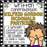 Written Comprehension - Wilfrid Gordon McDonald Partridge mClass TRC Questions