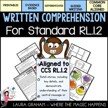 Written Comprehension for Standard RL.1.2 Retelling and Ce