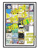 Written Conventions Task Cards Bundle