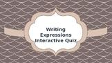 Written Expression Quiz