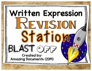 Written Expression - Revision Stations