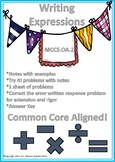 Written Expressions Common Core