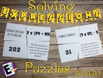 Written Expressions Self-Correcting Puzzles