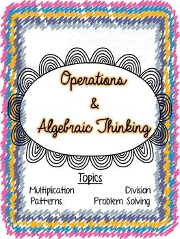 Written Math Assessments: Third Grade