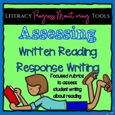 Written Reading Responses Rubric--Text Dependent Analysis Rubric