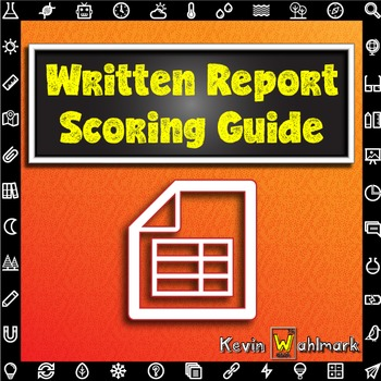 Written Report Scoring Guide Rubric