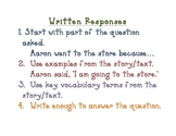 Written Response Clues