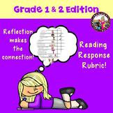 Written Response Rubric-Grades 1 & 2!