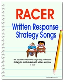 Written Response Songs Using the RACE Strategy