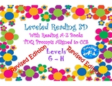 Written Response With Reading A-Z Books level G & H, CCS a