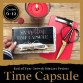 Written Time Capsule: End of Year Activity for Middle and