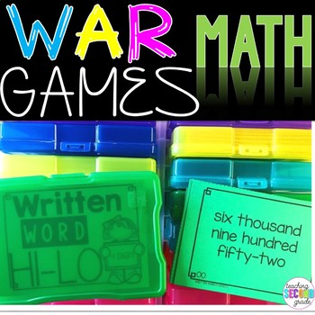 Written Numbers 4 Digit Math Game