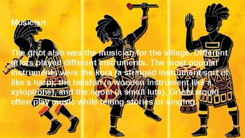 Written and Oral Traditions of African Culture