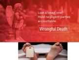 Wrongful Death Murder Civil Law Criminal Law Trials Distan