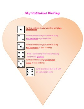 Wrtiting to your Valentine