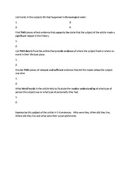 Wu Di Article Biography and Assignment