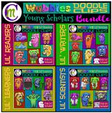 Wubbles Clip Art Lil' Scholar's BUNDLE