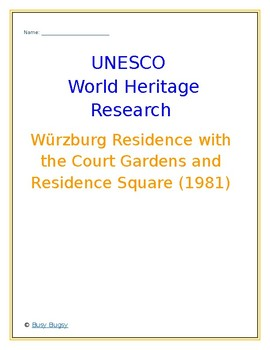 Würzburg Residence with the Court Gardens and Residence  Germany Research Guide