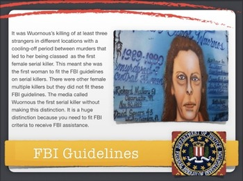 Aileen Wuornos ~ Serial Killer ~ Woman ~ Male Victims ~ Execution ~ 61 Slides