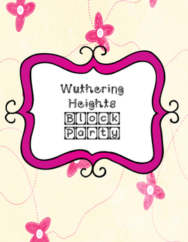 Wuthering Heights Block Party Cards