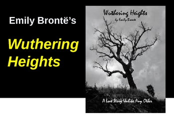 Wuthering Heights- Emily Bronte- novel analysis