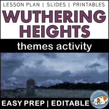 Wuthering Heights Themes Textual Analysis Activity
