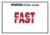 Wuzzle of the Week (Display Posters)