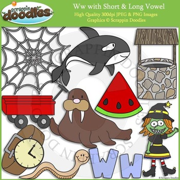 W Short and Long Vowel