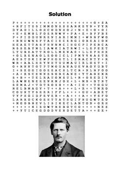 Wyatt Earp Word Search
