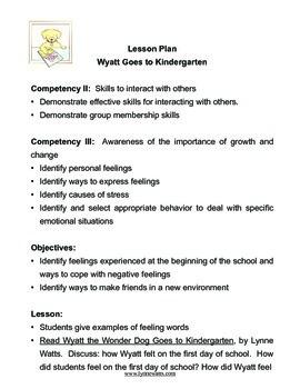 Kindergarten:  Wyatt the Wonder Dog Goes to Kindergarten