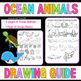 Wyland Ocean Animals Kids Visual Arts Drawing Guide for El