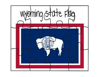 Wyoming Flag Puzzle