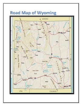 Wyoming Geography Maps, Flag, Data, and Assessment