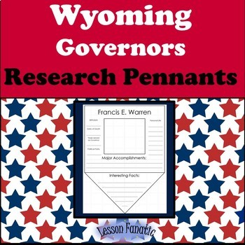 Wyoming Governors Research Pennants