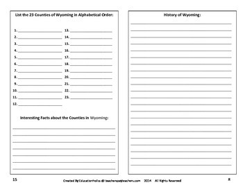 Wyoming Interactive Notebook
