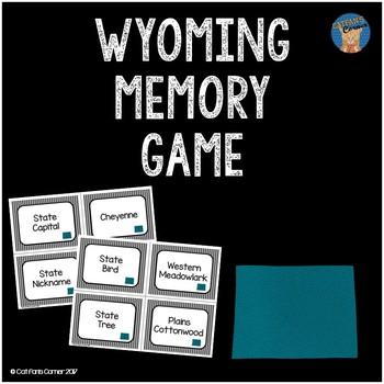 Wyoming Memory Game