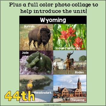 Wyoming Mini Book for Early Readers - A State Study