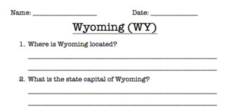 Wyoming Reading Comprehension