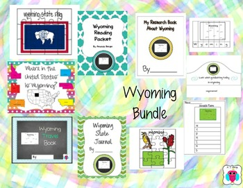 Wyoming Resource Bundle-10 Resources