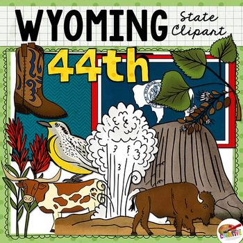 Wyoming State Clip Art