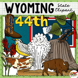 Wyoming State Clip Art