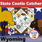 Wyoming State Facts and Symbols Distance Learning Printable